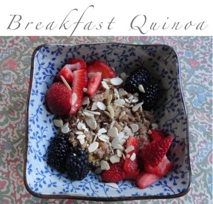 Breakfast Quinoa.